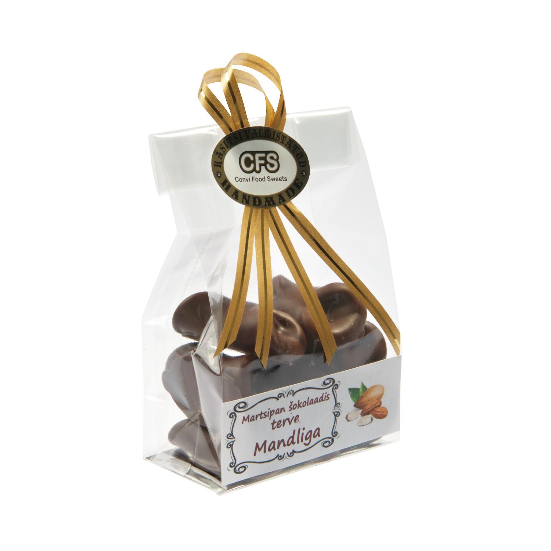 Martsipan šokolaadis terve mandliga 75g